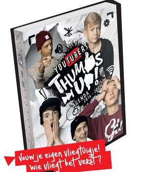Tumbs up agenda van bekende YouTubers